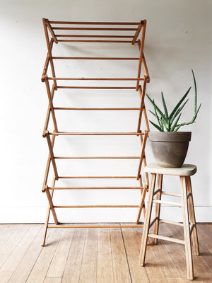 Vintage Collapsible Drying Rack