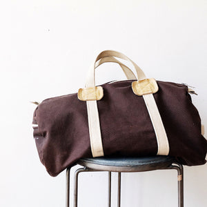Vintage Canvas Duffel Bag