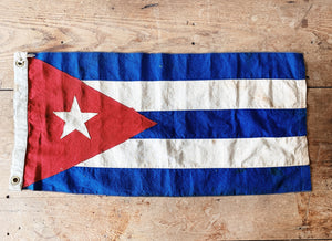 Antique Cuban Nautical Flag