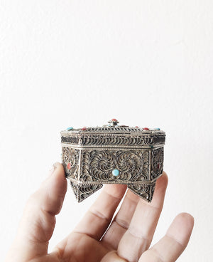 Vintage Filigree Box