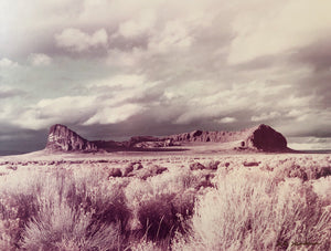 Original Vintage Desert Film Photo