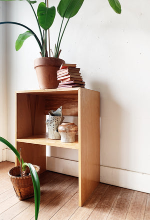 Handmade Wood Media Stand / Shelf