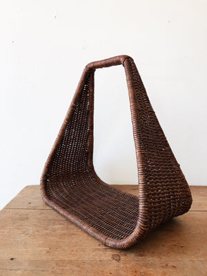 Vintage Triangular Basket Hanger