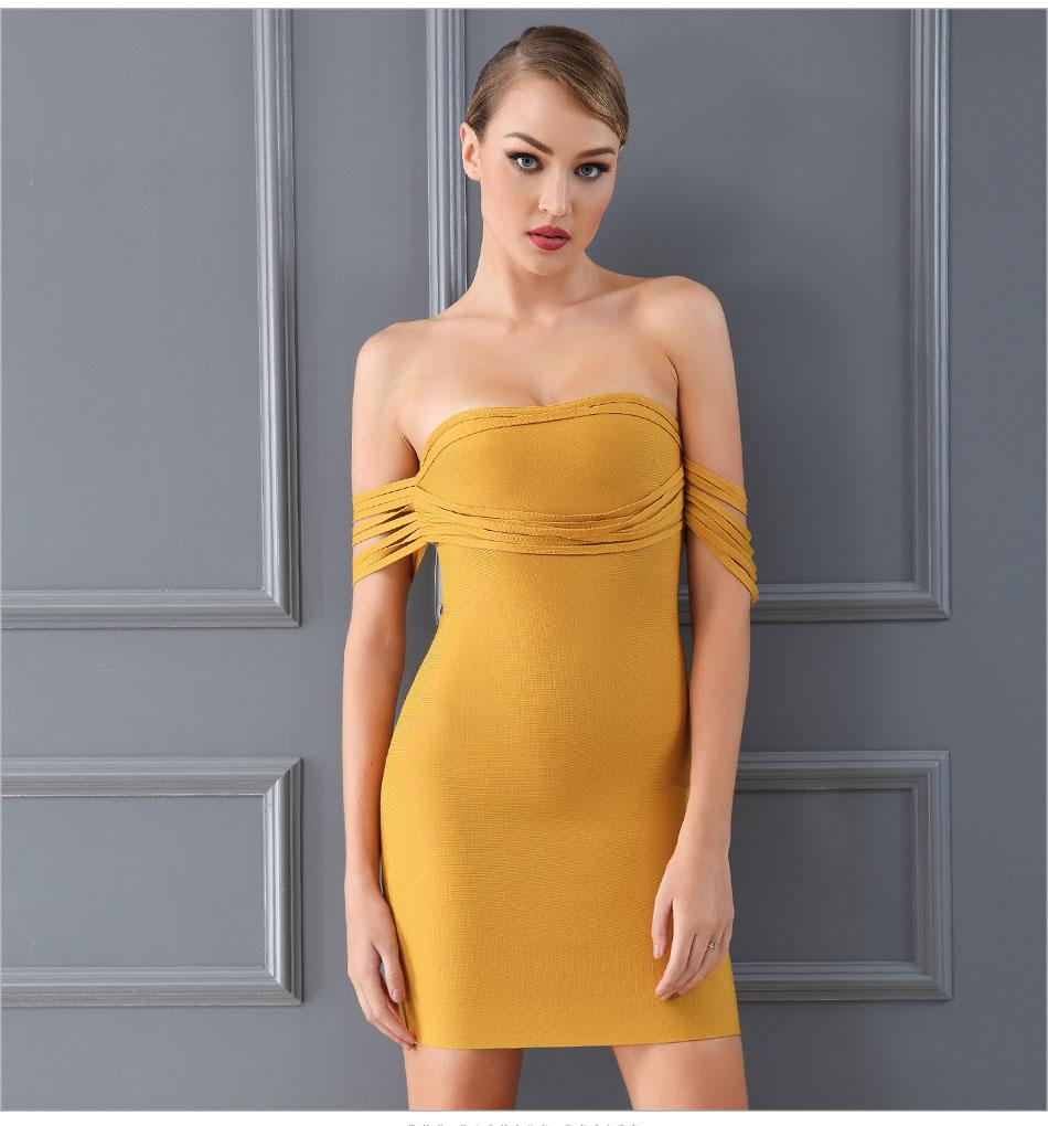 Jennifer Bodycon Bandage Dress