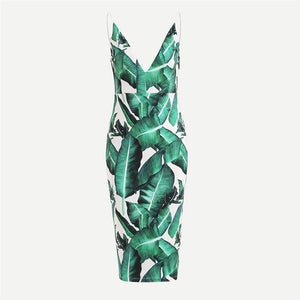 Clory Blas Tropical Dress