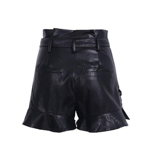 Jash Leather Shorts
