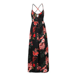 Lily Ros  Floral Print Dress