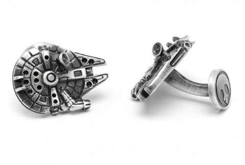 Star Wars Palladium Millenium Falcon Cufflinks