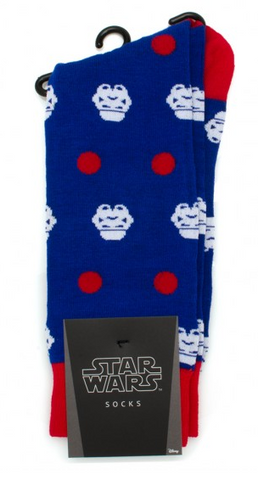 Star Wars Storm Trooper Dot Socks