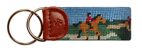 Hunter Jumper Needlepoint Fob