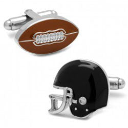 3D Enamel Football and Helmet