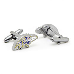 Baltimore Ravens Head Cufflinks