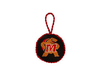 Maryland Needlepoint Ornament