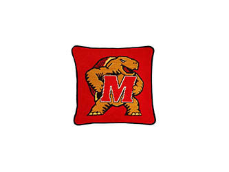 Maryland Terps Needlepoint Pillow
