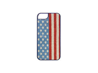 Stars and Stripes Needlepoint iPhone 6 Case