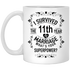 11th Anniversary Wedding Marriage Coffee Mug