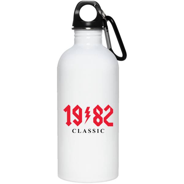 1982 Classic Birthday AC DC Stainless Steel Water Bottle