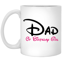 Dad Mom Brother Of Birthday Girl Coffee Mug