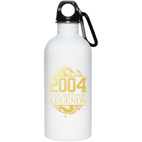 2004 The Birth Of Legends Vintage Classic 14 Yrs Years Old Stainless Steel Water Bottle