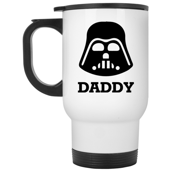Daddy The Force Is With This Mom Daddy's Little Princess Matching Coffee Mug