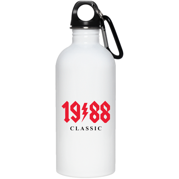 1988 Classic Birthday AC DC Stainless Steel Water Bottle