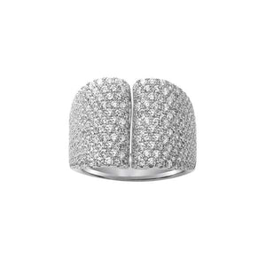Pave Diamond Cocktail Ring