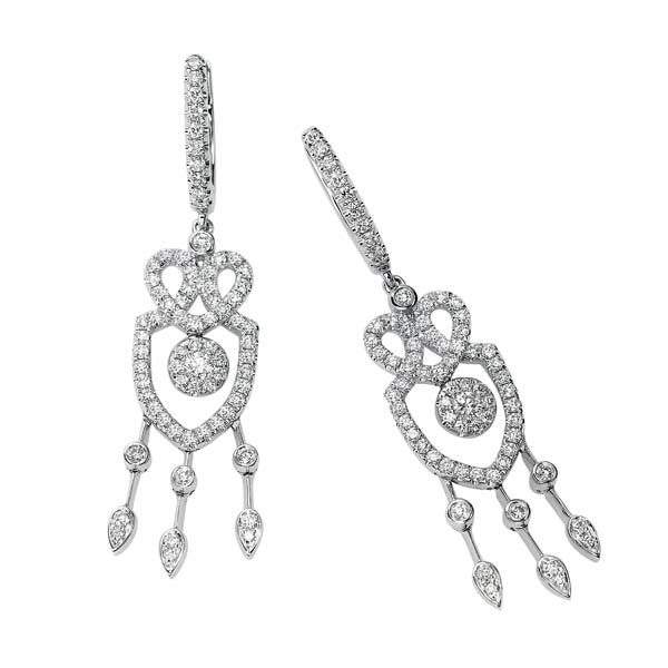 Mini Diamond Chandelier Earring