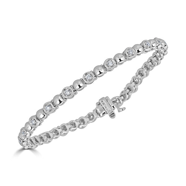 Diamond Bubble Bracelet