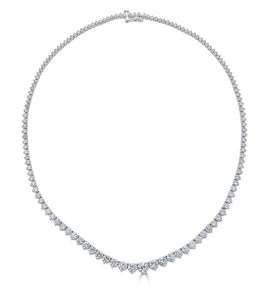 Graduating Diamond Riviera Necklace