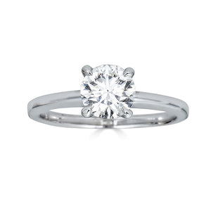 Round Cut Solitaire Engagement Ring