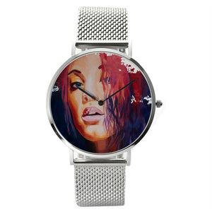 30 Meters Waterproof Quartz Fashion Watch With Casual Stainless Steel Band