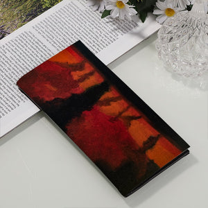 PU Leather Multi-Card Long Bifold Wallet