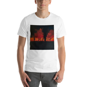 Short-Sleeve Unisex T-Shirt - Sinister Phantoms in Disarray (Tornadoes)