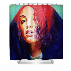 What A Night - Haley - Shower Curtain