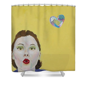 You Are Loved - Shower Curtain