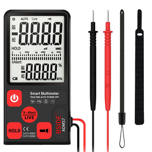 ADMS7 Portable Digital Multimeter Auto AC/DC Voltage Meter Ohm Tester LCD