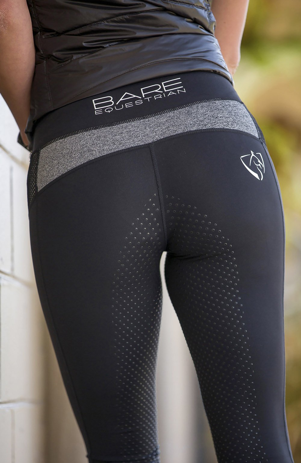 Bare Equestrian Performance Tights - Stormy Rider