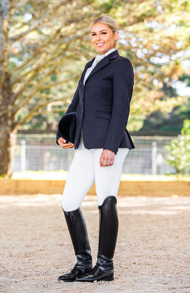 Bare Equestrian Competition Performance Tights - Ivory