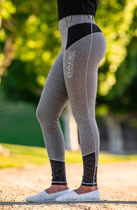 Bare Equestrian - Performance Tights - Grey Camouflage