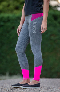 Bare Equestrian Youth Performance Tights - Malibu