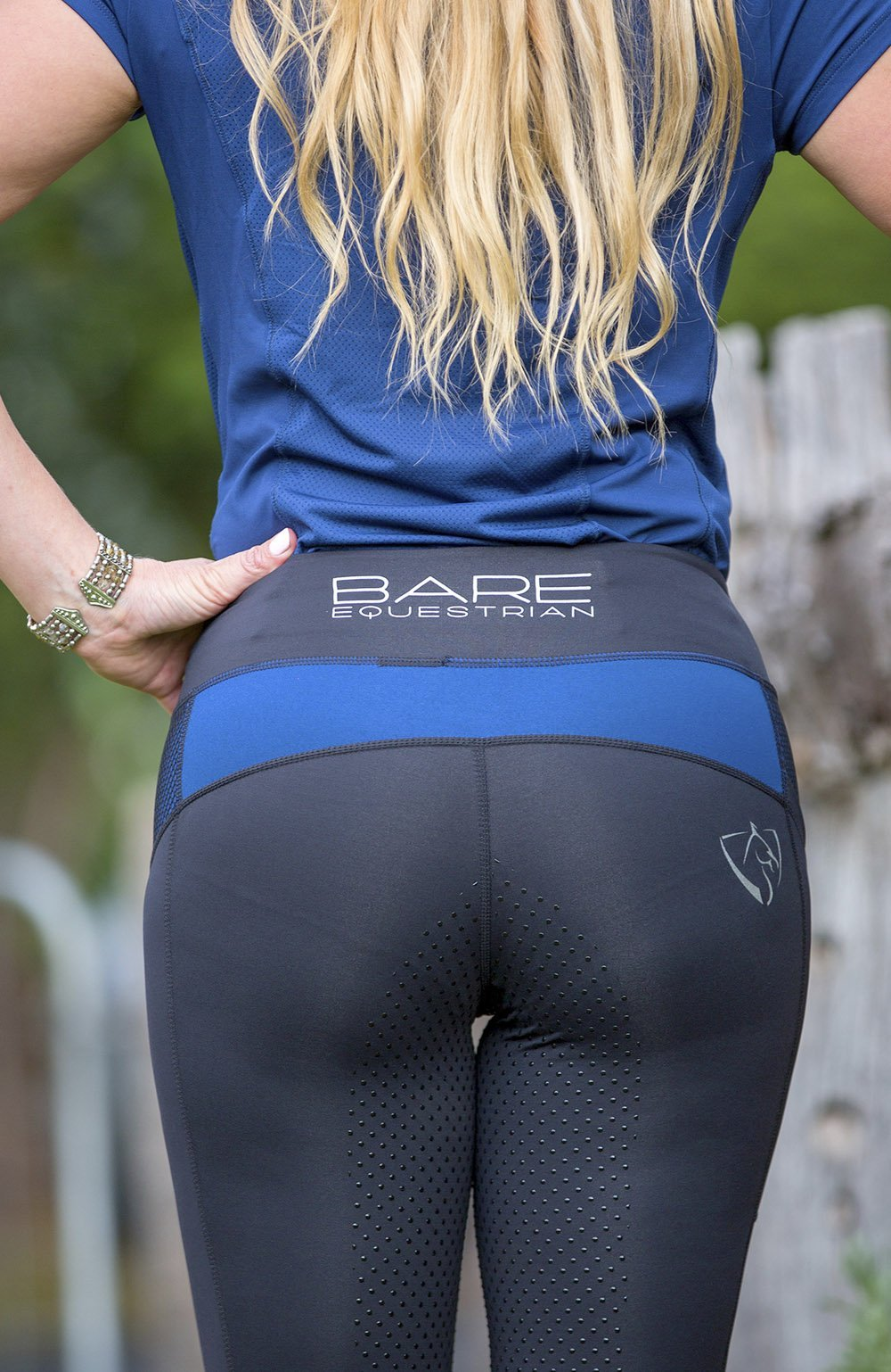Bare Equestrian Performance Tights - Royal Rider