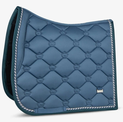 "PSOS DRESSAGE SADDLE PAD - SEA ""I will be my own hero!"""