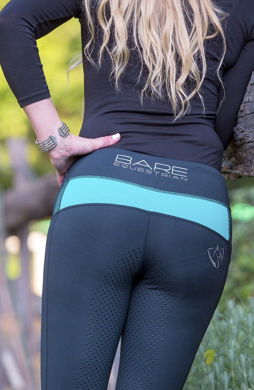 Bare Equestrian Performance Tights - Panama