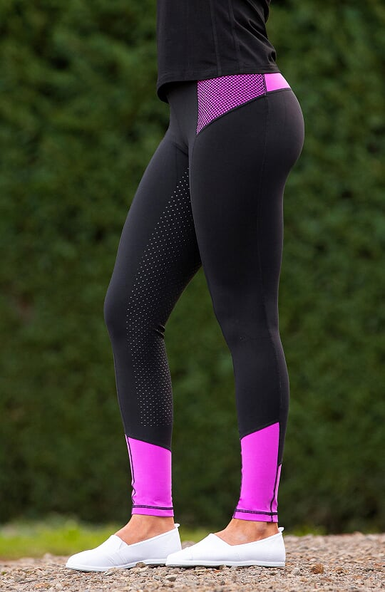 Bare Equestrian - Performance Tights - Dark Glow