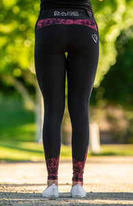 Bare Equestrian - Performance Tights - Garnet