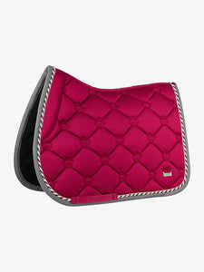 "PSOS Jump Saddle Pad Scarlet - ""Standing Ovations"""