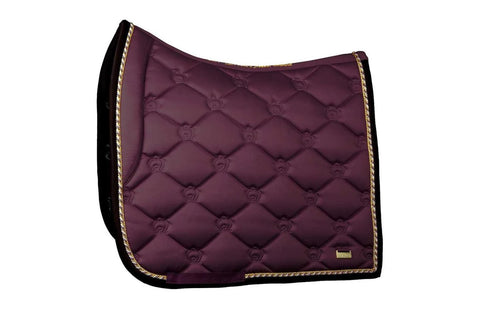 "PSOS Dressage Saddle Pad Wine -""Commander-in-chief"""