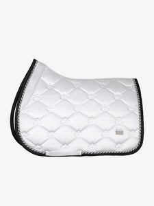 "PSOS Jump Saddle Pad Winning Round -""Watch the queen conquer"""