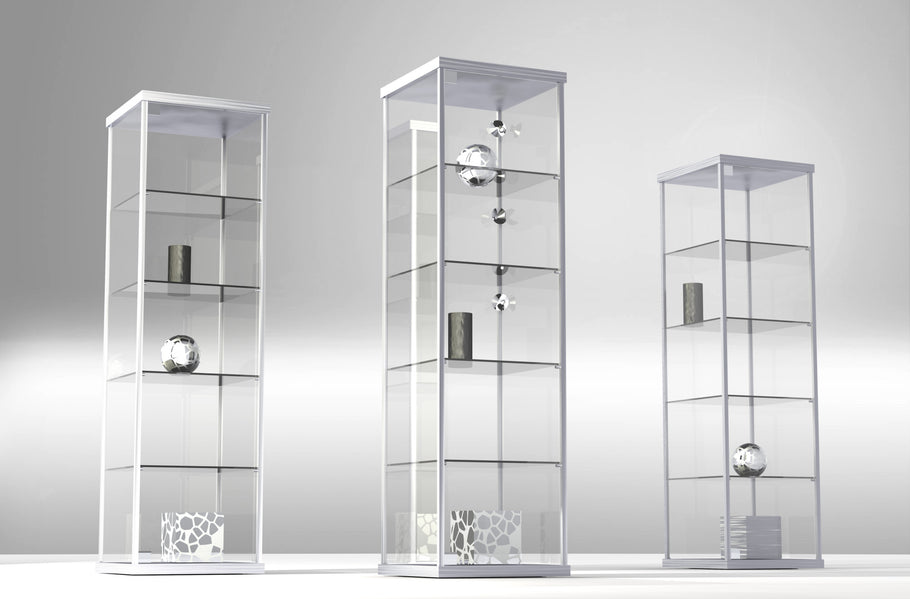How to Use Glass Case Pedestals in Home Decorating