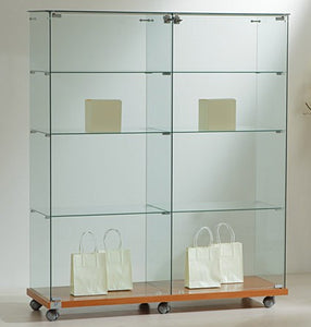 Premier Lite 12.14 Double Display Case